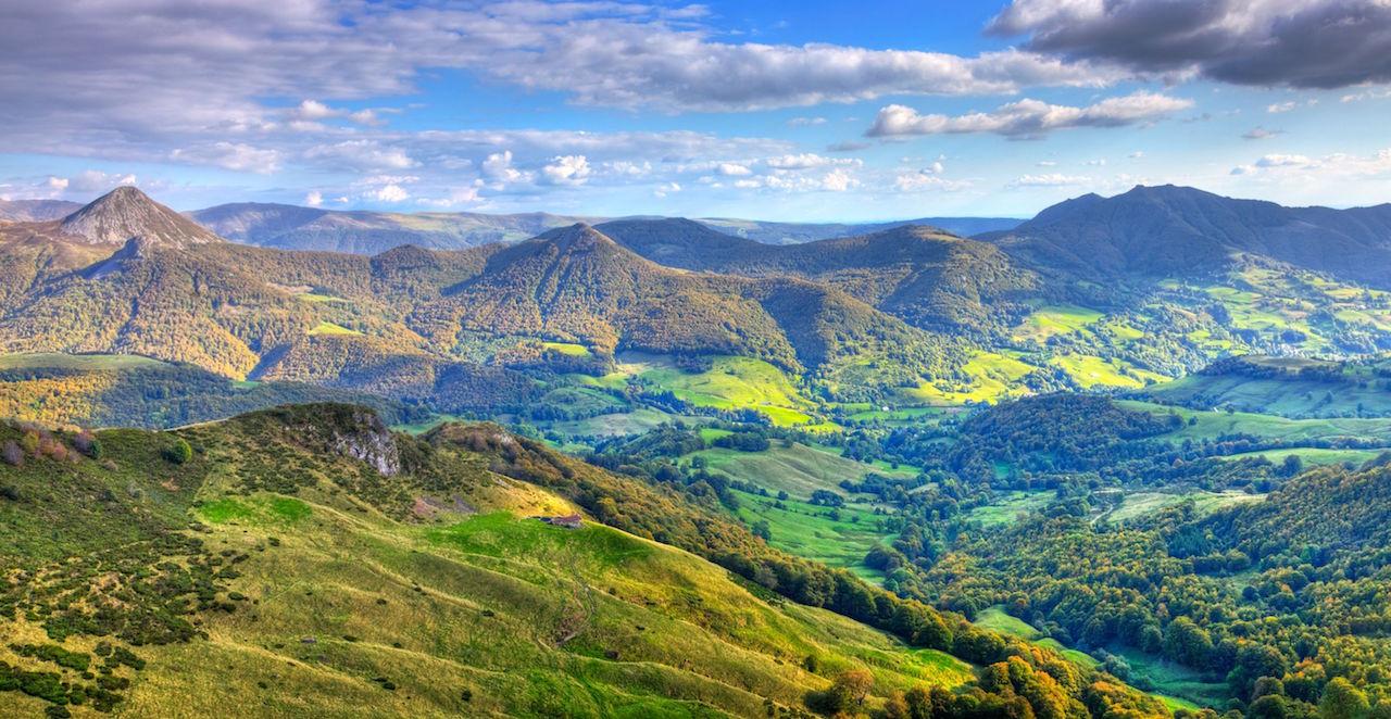 L'Auvergne: du Cantal au Puy de Dôme
